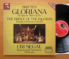 ASD 4073 Britten Gloriana Prince Of The Pagodas Uri Segal Bournemouth 1982 NM/EX