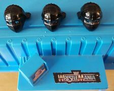 WWF Hasbro Custom Accessories Demolizione CASCO SET DI 3