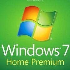 WINDOWS 7 HOME PREMIUM 32 / 64BIT SP1  GENUINE LICENSE KEY SCRAP PC