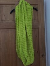 Yellow Knitted Snood Scarf ASOS