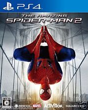 Amazing Spider-Man 2 SQUARE ENIX SONY PS4 PLAYSTATION JAPANESE NEW JAPANZON