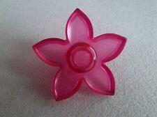LEGO Duplo Blume Blüte Pflanze rosa rot Pflanze transparent  pink 52639 Schloss