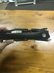 W 203 Mercedes Benz C Class Black Front Right-side Outer Door Handle With Lock