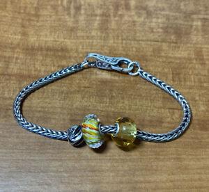 Authentic Trollbeads  Bracelet Spring Sunshine TZZUS-01001