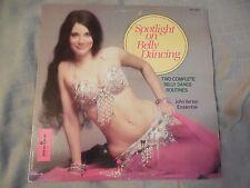 John Vartan Ensemble Spotlight On Belly Dancing LP SEXY Cheesecake