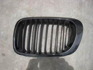 BMW E46 and E46 M3 Sedan/ Coupe/ Convertible Carbon fiber front grilles