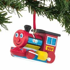 """Dept 56 Fisher Price """"Huffy Puffy Train """" Ornament New #4037444"""