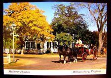 MULBERRY PHAETON WILLIAMSBURG, VIRGINIA W/MESSAGE-NO STAMP(SEE ITEM DESCRIPTION)