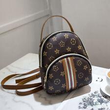 Women Leather Shoulder Bag Crossbody Bag Lady Backpack Anti-theft Purse Rucksack