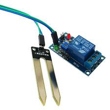 12V Relay Controller Soil Moisture Sensor Automatically Watering Arduino 7OK
