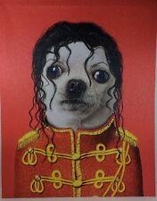 Takkoda Pets Rock Pup Of Pop Anthropomorphic Canvas Pop Wall Art Furry Friends