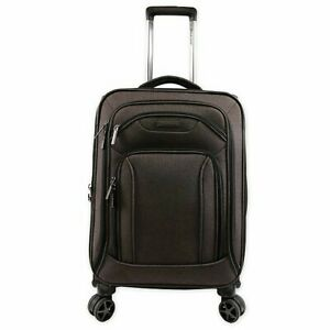 Brookstone Dash 2.0 Spinner Carry On Luggage Bag