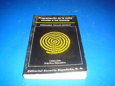 Libro Programacion de la visita escolar a los museos - Fernando Fullea Garcia