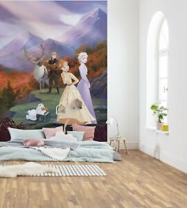 Photo wallpaper Frozen Spring is Coming girl's bedroom wall mural Disney poster