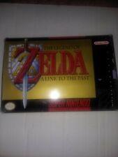 The Legend of Zelda: A Link to the Past Super Nintendo SNES CIB Box Complete Lot