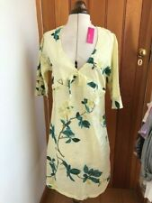 saltwater yellow floral dress size 6 bnwt
