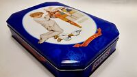 Snickers 2005 Limited Edition Collectible Tin Blue w/ Norman Rockwell circa 1949