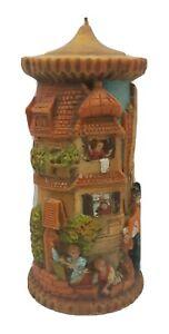 "Vintage German Gunter Kerzen Hand Carved Eternal Candle 9"" Tall GMBH Mailman"