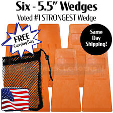 6 55 Usa Hard Logging Felling Bucking Tree Forestry Falling Spiked Wedges