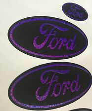 Ford Fiesta Mk7.5 Mk8 ST180 3 X Gel Domed Badges Any Colours Model Can Be Done