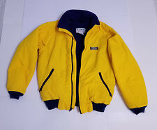 "LL Bean Maine ""Warm-Up Jacket"" Fleece Lined Vintage 1990s Jacket Womens Small"