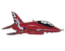 BAE Hawk RAF Red Arrows Jet Aircraft Metal Enamel Badge Brooch GB Tail  36mm