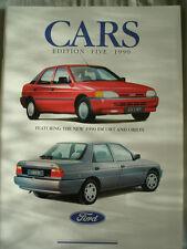 Ford range brochure 1990 Ed 5 Fiesta, Escort, Orion, Sierra, Granada, Scorpio
