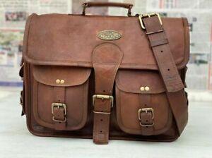 Bag Business Messenger Laptop Shoulder Briefcase (All-Purpose Use) Men's Leather