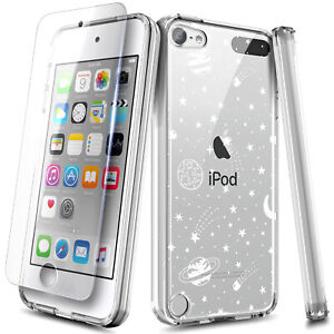 For iPod Touch 5th 6th 7th Gen Case Clear Hard PC Impact Resist Shockproof Cover