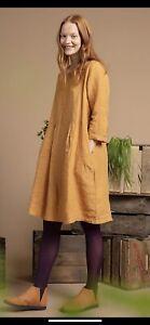 Gudrun Sjoden Beautiful  Linen Sia Dress Size XS(8)