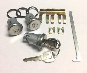 NEW 1981-1987 Buick Regal & Grand National- Door & Trunk Lock set with GM Keys