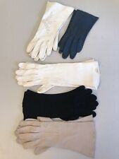 5 pairs Of Vintage Gloves. 3 are Kislav Kid Skin France 1 Aris Germany Size 7