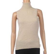 Women's Sleeveless Waist Length Cashmere Jumpers & Cardigans
