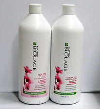 Biolage ColorLast Shampoo Conditioner 33.8 oz Liter Duo Set Matrix Color Care
