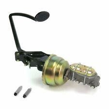 35-40 Ford OEM X 8 Dual Brake Pedal kit Disk/DiskLg Oval Blk Pad