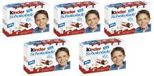 FERRERO Germany - 5 x Kinder Chocolate - 5 boxes 5x24 = 120 pcs - SHIPPING FREE