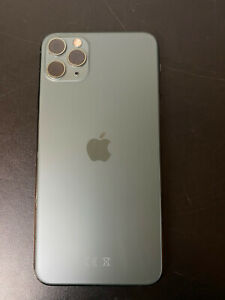 Genuine Apple iPhone 11 Pro Max Rear Back Chassis Housing Midnight Green B Grade