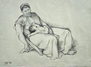 Francisco Zuniga, ORIGINAL drawing