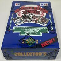 1989 UPPER DECK MLB Baseball LOW SERIES Unopened Card BOX BBCE Sealed FASC Foil