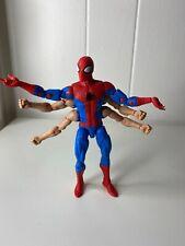 Marvel Legends Kingpin Series SIX ARM SPIDERMAN 100% Complete MINT Avengers 6