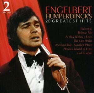 ENGELBERT HUMPERDINCK - 20 Greatest Hits - 2 Disc Set CD
