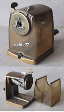 OLD METAL & PLASTIC TABLE PENCIL SHARPENER LEAD POINTER DAHLE 77