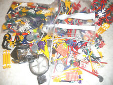Lot of Knex over 4Lb Bulk of Loose Assorted Pieces and Parts K'nex large box