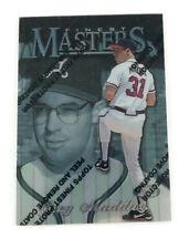 1997 Finest #294 Greg Maddux Silver Atlanta Braves