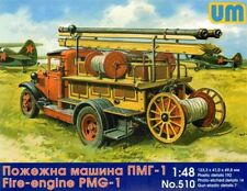 Unimodel 1/48 Pmg-1 Fourgon D'Incendie #510