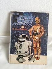 1978 The Star Wars Storybook - Full Color Photographs - Hardcover Random House