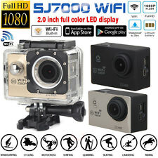 "Waterproof SJ7000 12MP Full HD 1080P Wifi 2.0"" Action Camera Sports DV Camcorder"