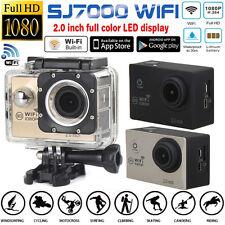 "Waterproof SJ7000 12MP Full HD 1080P Wifi 2.0"" Action Camera Sports DV Camcorder"