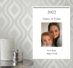 A4 Personalised Calendar Photographs Gift Christmas Present 2022 - 20