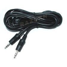 "12 ft 3.5mm 1/8"" mini plug stereo audio cable/cord M-M"